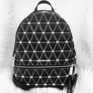 Michael Kors Rhea Medium Quilted Leather Backpack